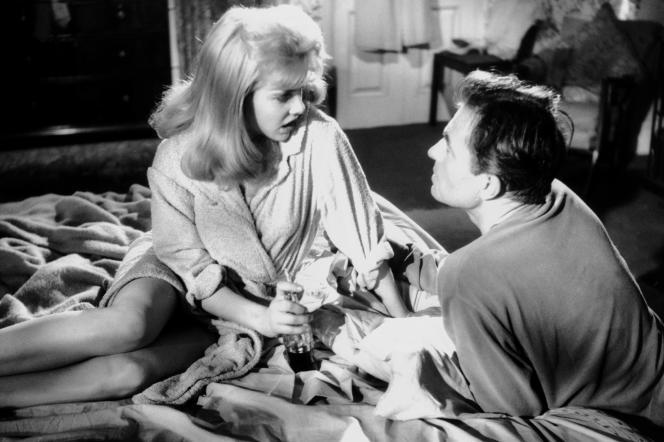 Sue Lyon (Dolores «Lolita» Haze) et James Mason dans le film« Lolita», de Stanley Kubrick.