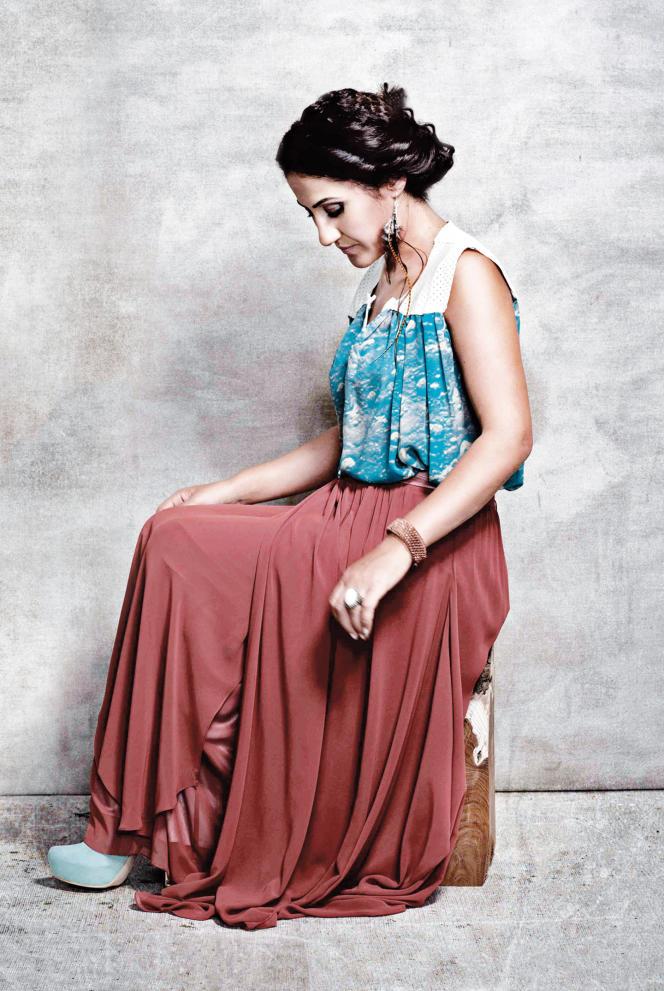 La chanteuse kurde Aynur.