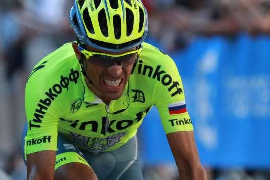Alberto Contador a préféré abandonner lors de la 9e étape de la Grande Boucle.