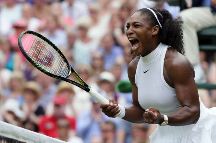 Serena Williams, le 9 juillet à Wimbledon.