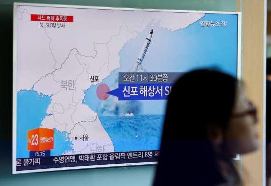 La Corée du Nord a procédé en juin à un essai de Musudan, un missile de portée intermédiaire.