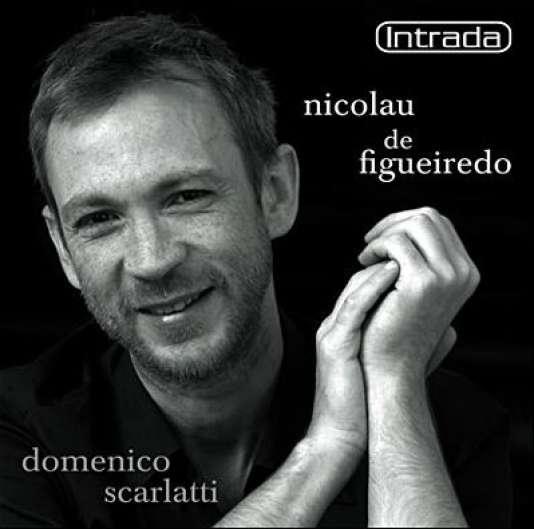 Pochette de son disque de Sonates de Domenico Scarlatti paru en2006 chez Intrada.