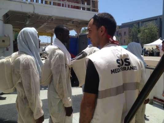Albert Mayordomo, volontaire pour la recherche et le sauvetage en Mer