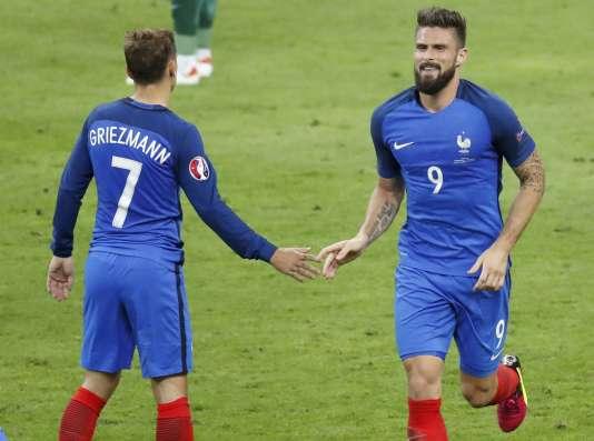 La complémentarité entre Olivier Giroud et Antoine Griezmann a de quoi inquiéter Karim Benzema.