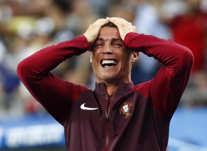Cristiano Ronaldo avait perdu une finale de l'Euro à domicile en 2004. Cette fois, il était du bon côté.