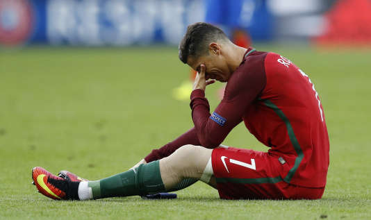 La blessure de Cristiano Ronaldo.