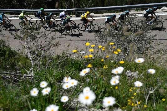Lors de la 9e étape du Tour de France 2016.