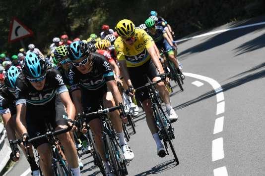 La neuvième étape du Tour de France.