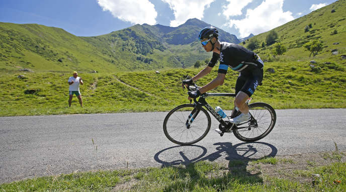 Chris Froome lors du Tour de France 2016.