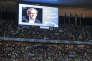 « Deux membres de la chambre de jugement de la Commission d'éthique ne présentaient pas les garanties d'indépendance et d'impartialité requises» (Photo: un portrait de Platini au Stade de France, le 10 juillet).