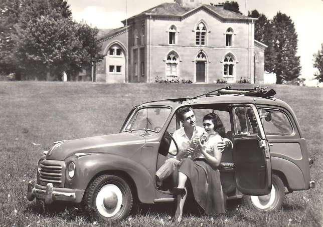 Le Duce exigeait une voiture populaire, que même les Italiens les plus modestes puissent se payer (ici, la version break).