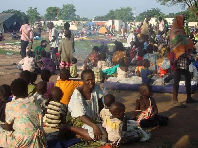 3000 femmes et enfants déplacés, le 11 juin au Soudan du Sud.