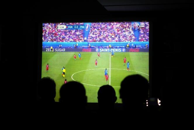 Le match Portugal-France diffusé dimanche 10 juillet.