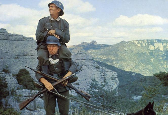 «La Grande Vadrouille» de Gerard Oury, avec Louis de Funes et Bourvil en 1966