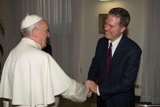 Greg Burke, le nouveau communicant du Vatican, le 11 juillet.