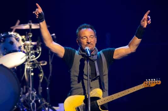 Bruce Springsteen en concert à Paris le 11 juillet.