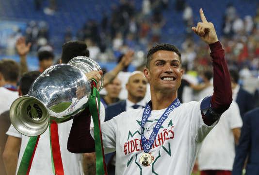 Ronaldo lors de l'Euro 2016.