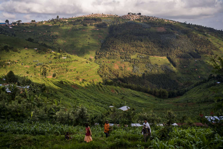 Province de Gicumbi, dans le nord du Rwanda.
