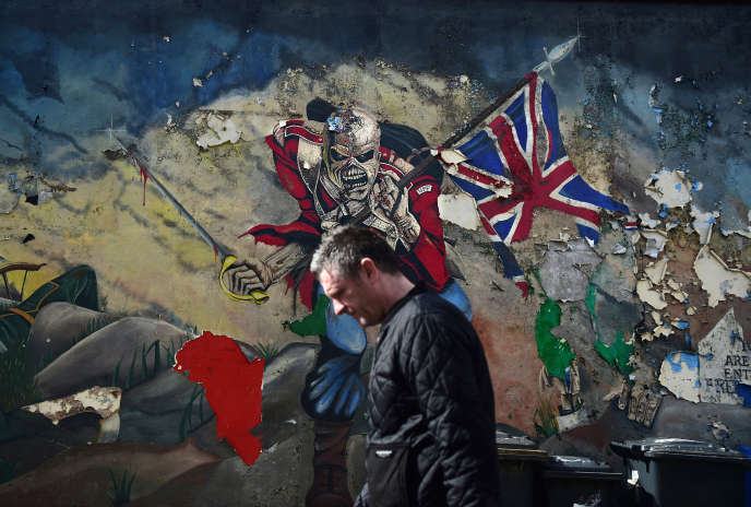 A Derry (Irlande du Nord), le 4 mai.