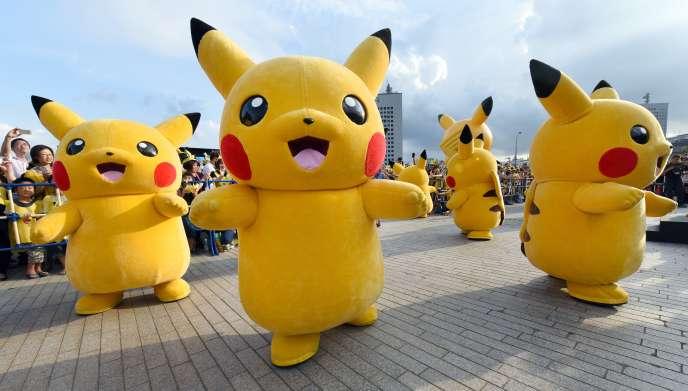 Parade Pokémon, à Tokyo.