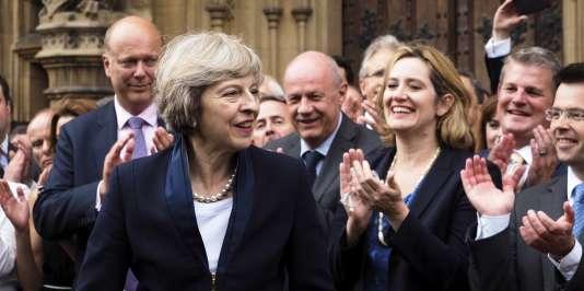La ministre de l'intérieur, Theresa May, va succéder à David Cameron et devenir première ministre du Royaume-Uni.