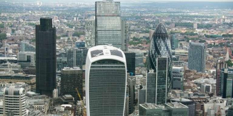 La City de Londres, l'une des principalesplaces financières au monde, en juin 2016.