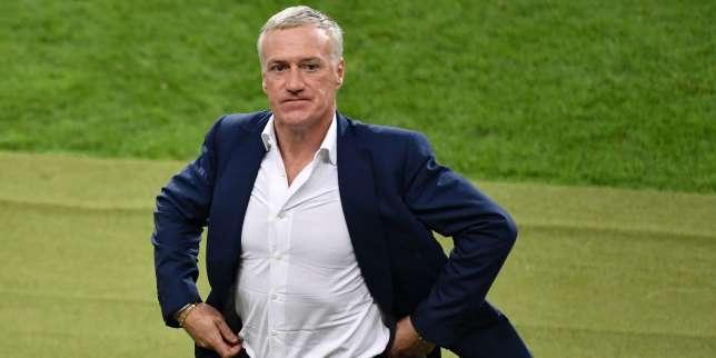 Didier Deschamps avant les prolongations pendant la finale France-Portugal dimanche 10 juillet.