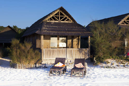 Comme une cabane de pêcheur posée sur la plage de Pamplonne.