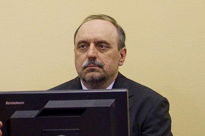 Goran Hadzic au Tribunal pénal international de La Haye, en juillet 2011.