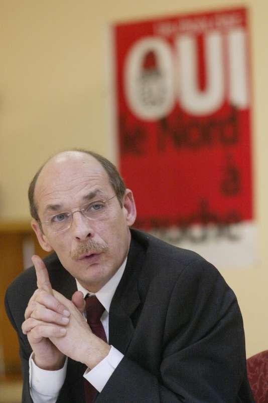 S'il est confirmé,Bernard Roman, député socialiste du Nord, prendra la tête de l'Arafer à compter du 22 juillet.