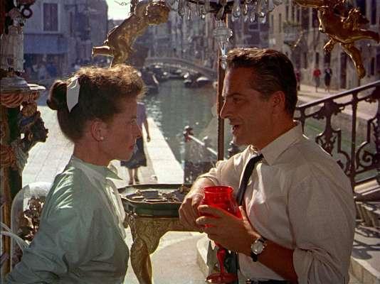 « Vacances à Venise»,de David Lean, avec Katharine Hepburn.