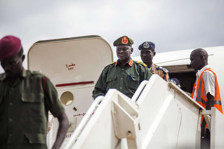 Le retour à Juba du général Simon Gatwech, chef des troupes rebelles de l'Armée de libération du peuple soudanais en opposition (SPLA/IO)en avril 2016.