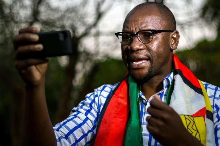 Evan Mawarire, le leader du mouvement citoyen contre le président Mugabe.