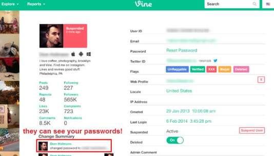 OurMine a publié une copie d'écran dont la véracité est remise en question pour expliquer le piratage du compte de Jack Dorsey.
