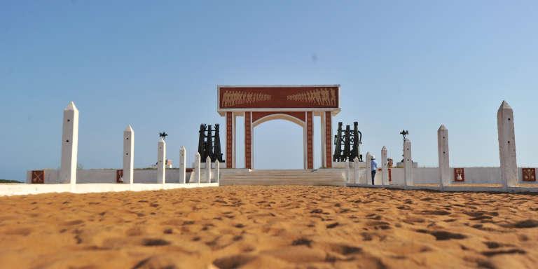 La porte du non-retour à Ouidah, au Bénin, construite par l'Unesco en 1992.