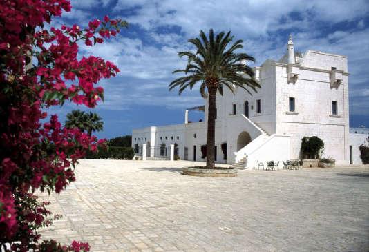 L'ancienne tour de guet des chevaliers de Malte, aujourd'hui tout confort.