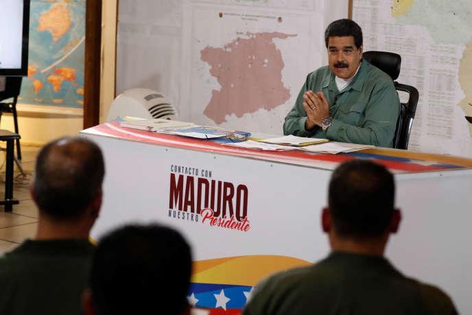 Le président Nicolas Maduro a annoncé sa décision mardi lors de son allocution radio-télévisée hebdomadaire.