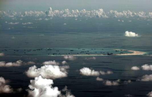 L'archipel des Spratleys, revendiqué par la Chine au détriment des pays riverains