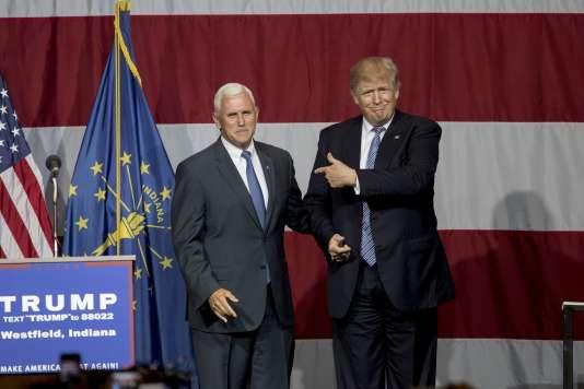 Selon le «Washington Post», la liste des candidats à la vice-présidence de Donald Trump ne comporte plus que trois noms. Mike Pence, le gouverneur de l'Indiana en est le favori.