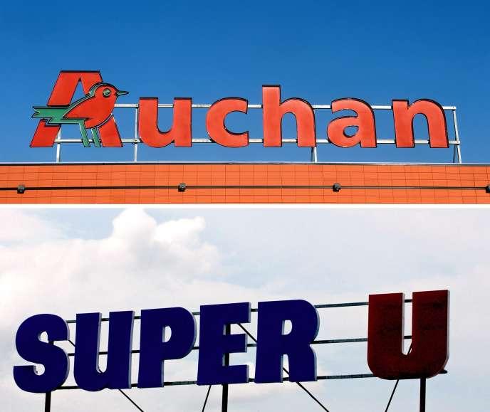 Le projet de mariage entre les deux enseignes de grande distribution Auchan et Système U devrait se limiter à une centrale d'achat commune.