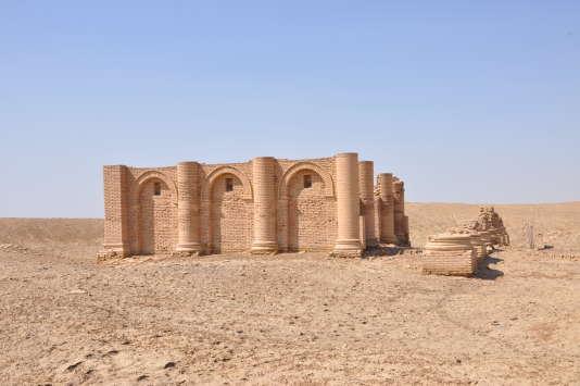 Dédié à Gareus, divinité parthe, d'origine iranienne, un des temples d'Uruk.
