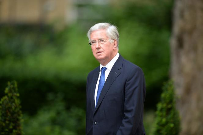 Le ministre britannique de la défense,Michael Fallon, le 13 juillet à Londres.