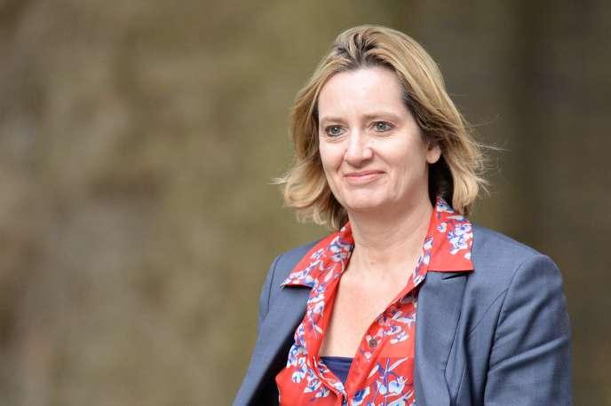 Amber Rudd, secrétaire d'Etat à l'intérieur britannique, était directrice de deux sociétés offshore enregistrées aux Bahamas.