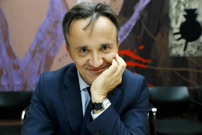 Philippe Mauguin, directeur de cabinet du ministère de l'agriculture et candidat à la présidence de l'INRA,lors de son audition mercredi 13 juillet à l'Assemblée nationale.