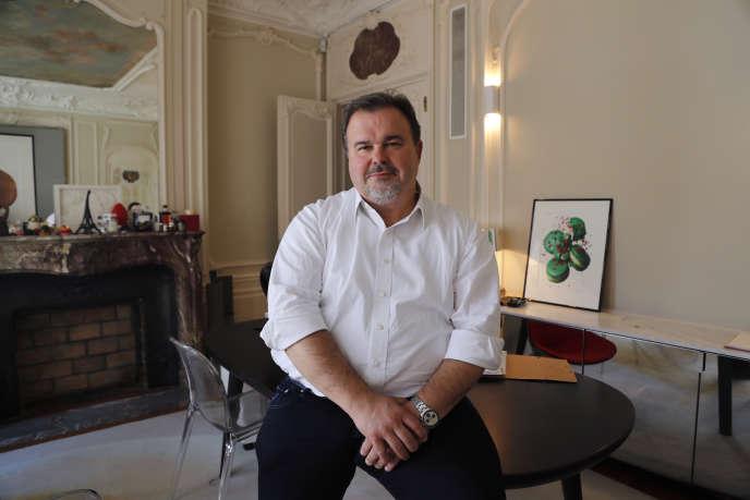 Pierre Hermé à Paris le 9 juin 2016.
