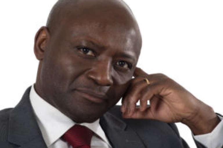 Bruno Ben Moubamba. Image tirée de son site de campagne.