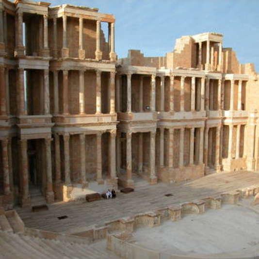 Sabratha, comptoir phénicien, reconstruit par les Romains aux deux premiers siècles de notre ère.