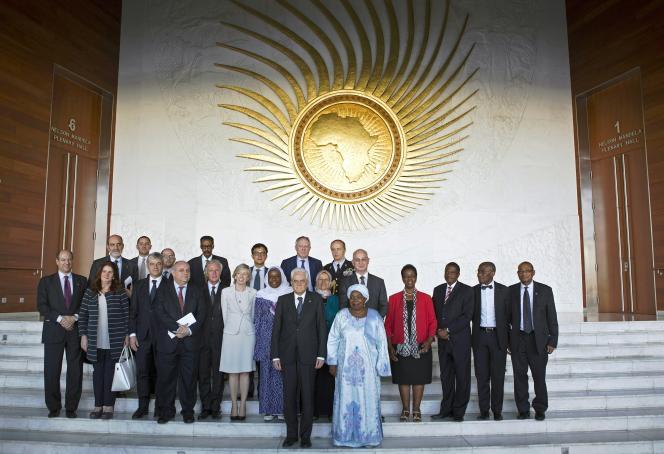 Photo de famille au dernier sommet de l'Union africaine à Addis-Abeba, en Ethiopie, le15 mars 2015.