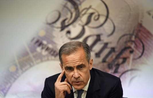 Mark Carney, le gouverneur de la banque centrale d'Angleterre, le 5juillet à Londres.