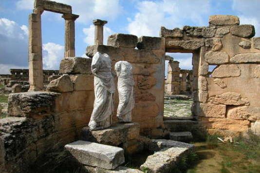 Cyrène, capitale de la colonie hellène de Théra.